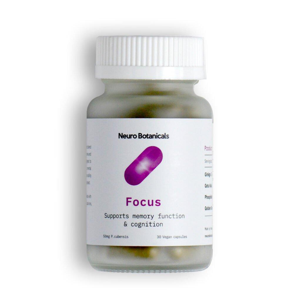 NeuroBotanicals Focus Microdose capsules